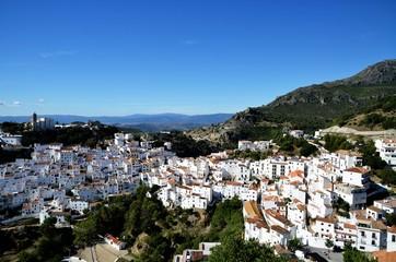 アンダルシアの白い村 カサレス(スペイン)