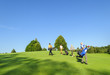 Flight auf dem Golfplatz