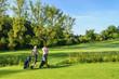 Zwei Golferinnen