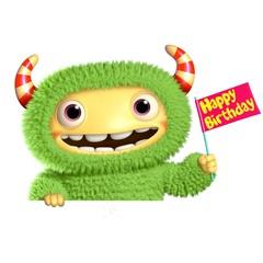 3d cartoon monster