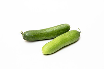 Green Fleshy Cucumbers