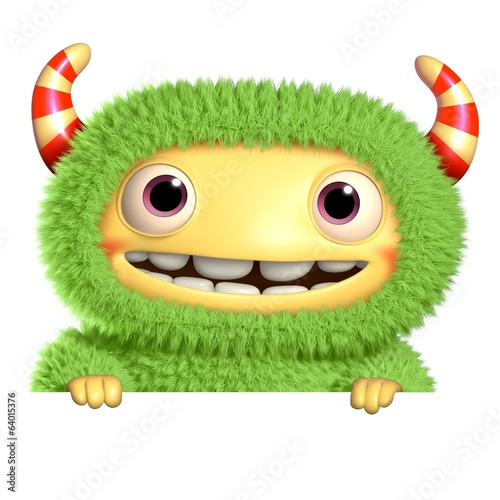 Aluminium Sweet Monsters 3d cartoon monster