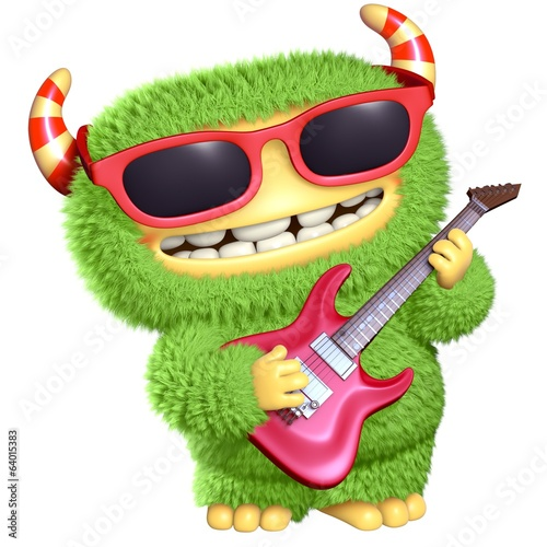 Tuinposter Sweet Monsters 3d cartoon monster