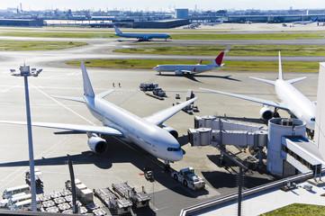 羽田空港の風景