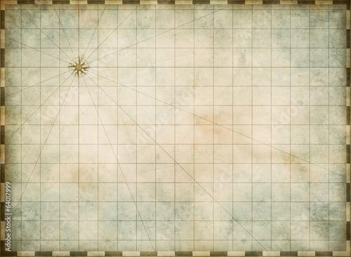 puste stare tło mapy