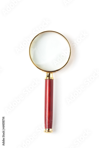 Magnifying Glass, Isolated