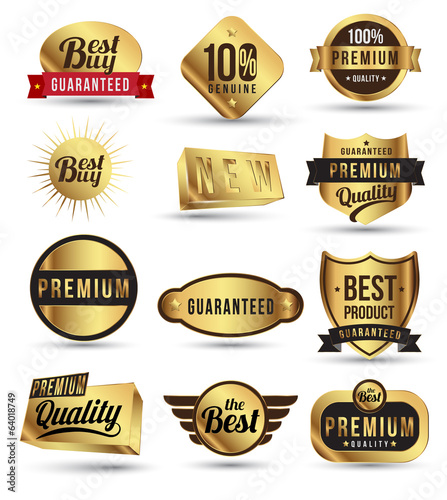 Gold badges set promotion guarantee