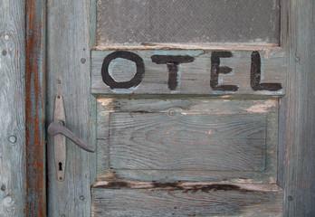 Wooden Door Detail, Close-up