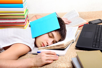 Hard Tired Student