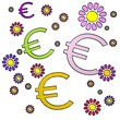 spring flower Euro collectrion
