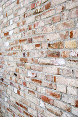 Old bricked wall