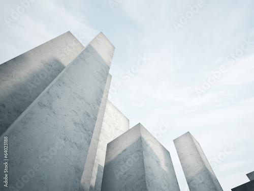 abstract concrete architecture