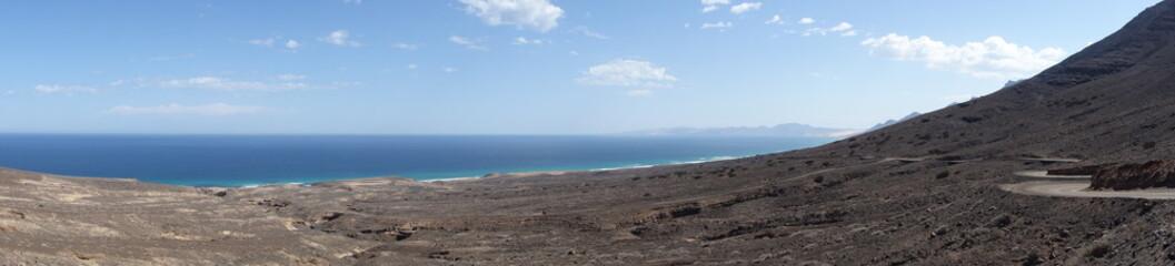 Fuerteventura. Panorámica Del Camino A Cofete