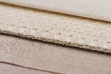Beige fabric