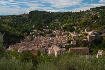 Largentière, village Ardéchois.