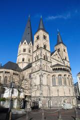 Famous Minster of Bonn, Germany