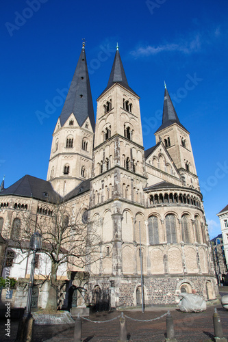 Famous Minster of Bonn, Germany