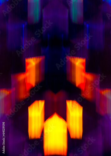 Abstract crowd background - vivid, modern background