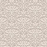 Fototapety Beige seamless pattern, ornamental background