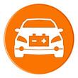 icon - electric car - orange - g900