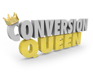 Conversion Queen Top Sales Person Woman Selling Expert Advice