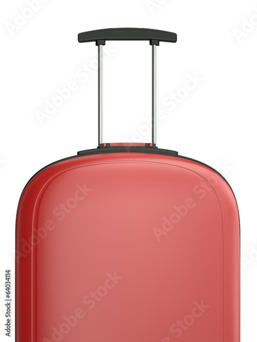 Travel suitcase, 3D render