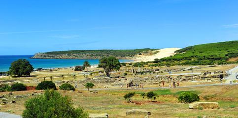 Ruinas de la ciudad romana de Baelo Claudia, Tarifa, España
