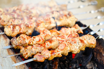 grilled caucasus barbecue