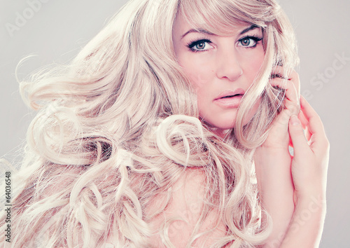 canvas print picture fashion shots 12_2-wonderful blond hair