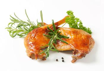Roast duck legs