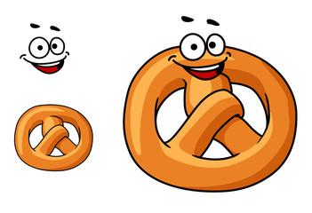 Funny crispy pretzel