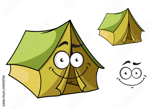 Fun cartoon tent