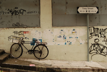 Bicycle on Tung Street