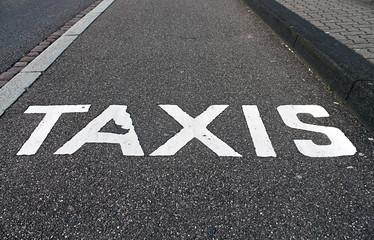 place de taxis
