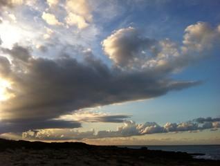 amanecer en playa de mallirca