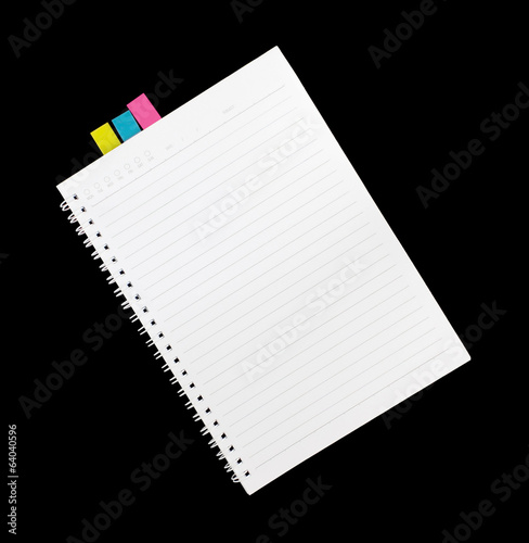 note book isolated
