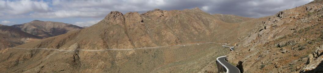 Fuerteventura. Panorámica De Carretera En Betancuria