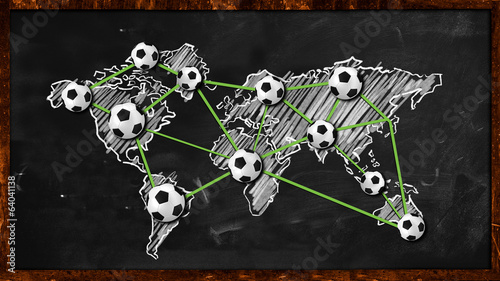 World ball Connection on Blackboard