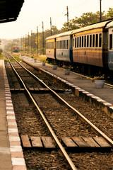 Kanchanaburi station.
