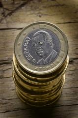 Monedas de euro de España Spanish euro coins