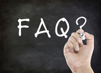 FAQ hand writing