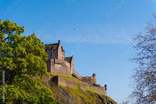Edinburgh Castle under a clear sky