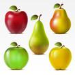 Setof fruits