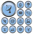 Communication button set