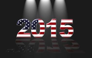 Usa New year 2015.