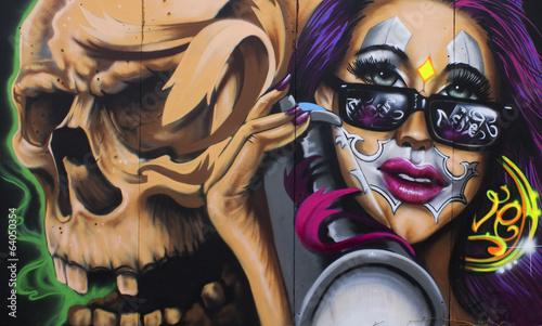 Fototapeta Graffiti Berlin
