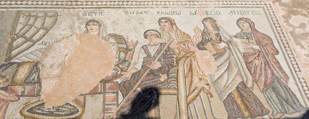 Mosaïques du site archéologique de Paphos