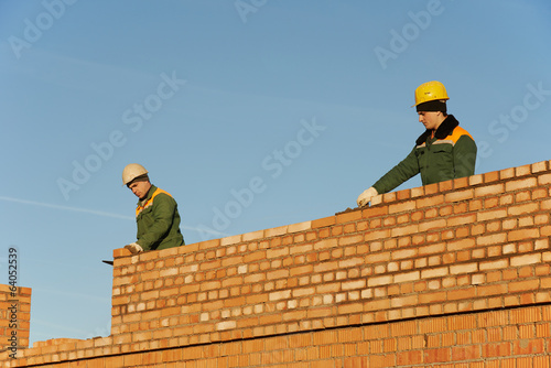 construction mason worker bricklayers