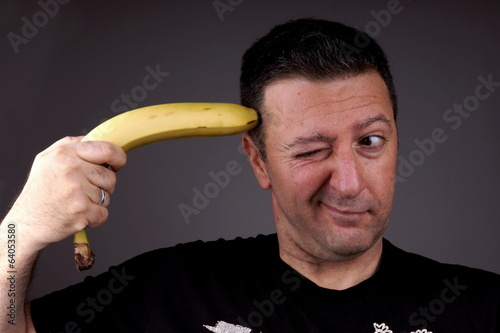Joking with Banana