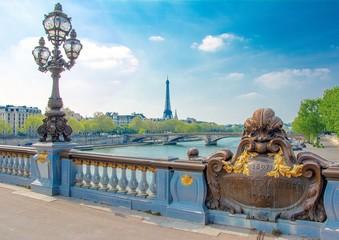 Pont Alexandre-III à Paris en France